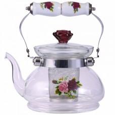 Чайник заварочный 900мл с металлическим фильтром